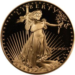 1991 1 oz American Gold Eagle Proof Coin