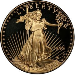 1992 1 oz American Gold Eagle Proof Coin