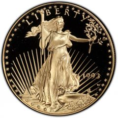 1993 1 oz American Gold Eagle Proof Coin