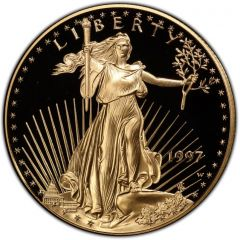 1997 1 oz American Gold Eagle Proof Coin