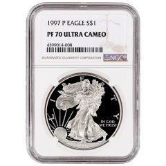 1997-P NGC PF-70 Proof American Silver Eagle Coin