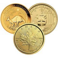 1/10 oz Gold Coins - Random Design