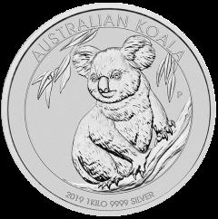 2019 Perth Mint Koala Silver 1 Kilo