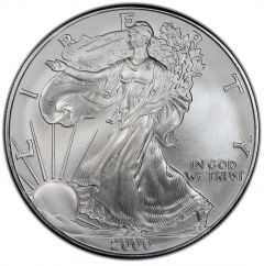 2000 American Silver Eagle Coin