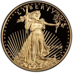 2008 1 oz American Gold Eagle Proof Coin