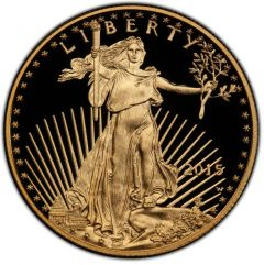 2015 1 oz American Gold Eagle Proof Coin