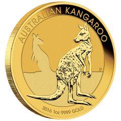 2016 1 oz Australian Gold Kangaroo Coin
