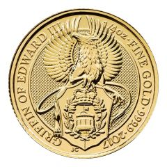 2017 1/4 oz Queen's Beasts Gold Coin - The Griffin - Royal British Mint