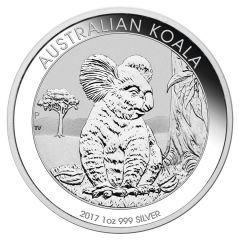 2017 1 oz Australian Perth Mint Koala Silver Coin