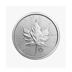 2017 Canadian Silver Maple Leaf Coin - In Flex-Sealed Packaging