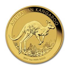 2017 1 oz Australian Gold Kangaroo Coin