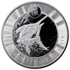 2017 Cayman Islands Marlin Silver Coin 1 oz