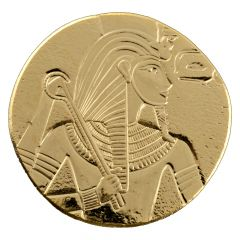 2017 Republic of Chad King Tut 1 oz Gold Coin - Egyptian Relic Series