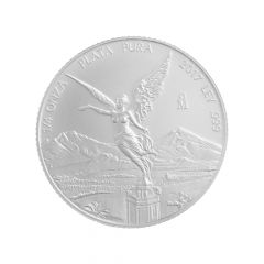 2017 Mexican Libertad Silver Coin 1/4 oz