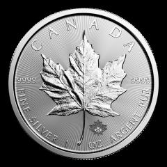 2017 Canadian Silver Maple Leaf Coin BU
