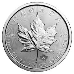 2018 Canadian Silver Maple Leaf Coin BU
