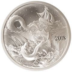 Silverbug Island Leviathan 1 oz Silver Round BU