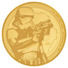 2018 Star Wars Niue Stormtrooper Gold Coin 1 oz