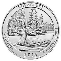 2018 Voyageurs ATB 5 oz Silver - America The Beautiful