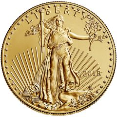 2013 American Gold Eagle 1//10 oz $5 BU