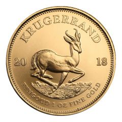 2018 South African Gold Krugerrand Coin 1 Oz