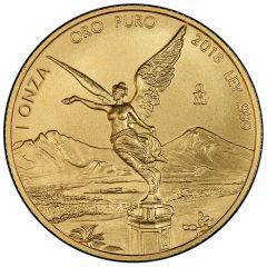 2018 Mexican Gold Libertad Coin 1 oz