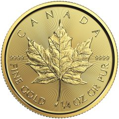 2018 1/4 oz Canadian Gold Maple Leaf Coin