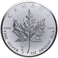 2018 Canadian Silver Maple Leaf Coin - Thomas Edison Light Bulb Privy