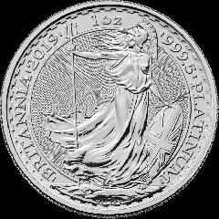2019 1 oz Britannia Platinum Coin