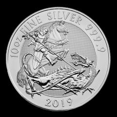 2019 10 oz Great Britain Valiant Silver Coin