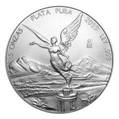 2019 Mexican Libertad Silver Coin 5 oz