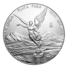 2019 Mexican Libertad Silver Coin 1/4 oz