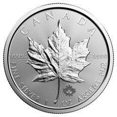 2019 Canadian Silver Maple Leaf Coin BU