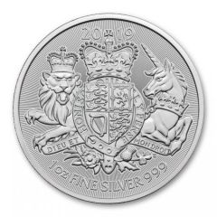 2019 1 oz Great Britain The Royal Arms Silver Coin