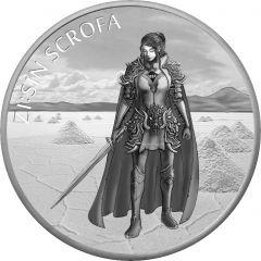 2019 South Korean ZI:SIN Scrofa Silver Coin 1 oz