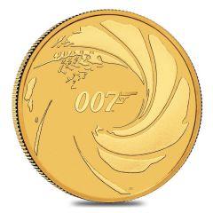 2020 1 oz James Bond 007 Gold Coin - In Capsule