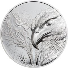 2020 1 oz Mongolia Majestic Eagle Proof Silver Coin