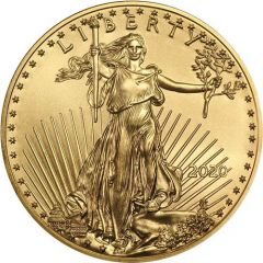 2020 1 oz American Gold Eagle Coin BU