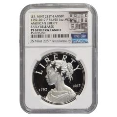 2017-P American Liberty Silver Medal Proof NGC PF-69 Early Releases