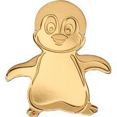 CIT Palau Gold Penguin 0.5 Gram Coin