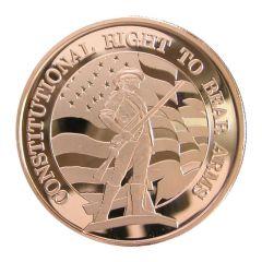 2nd Amendment 1 oz Copper Round - Osborne Mint