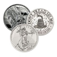 2 oz Generic Silver Rounds
