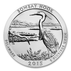 2015 Bombay Hook ATB 5 oz Silver | America The Beautiful