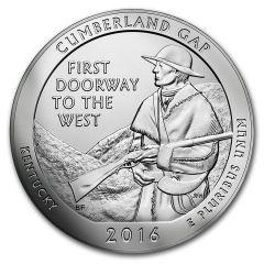 2016 Cumberland Gap ATB 5 oz Silver - America The Beautiful