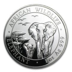2015 Silver Somalian Elephant 1 oz BU