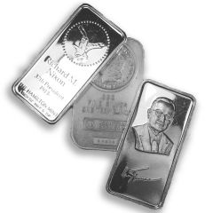 1 oz Generic Silver Bars - Design Our Choice