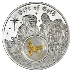 1 oz Silver Proof Coin - 2017 Wise Men Gift of Gold