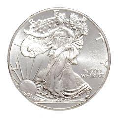 1/4 oz Silver Rounds - Walking Liberty