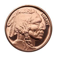 Indian Head 1 oz Copper Round - Osborne Mint