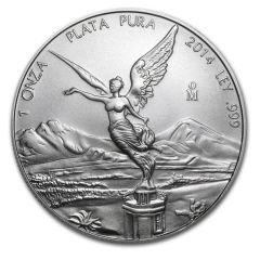 2014 1 oz Silver Mexican Libertad